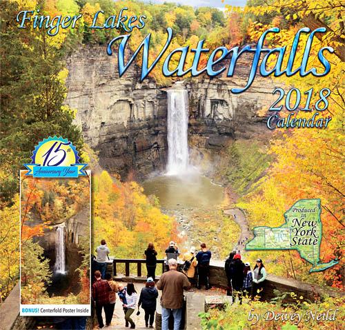 2018 Finger Lakes Waterfalls Calendar