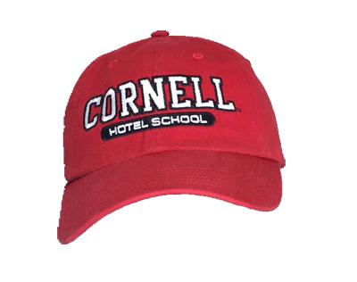 Cornell Hotel School Hat-Red