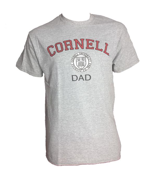 Cornell Dad- Heather Gray Tee