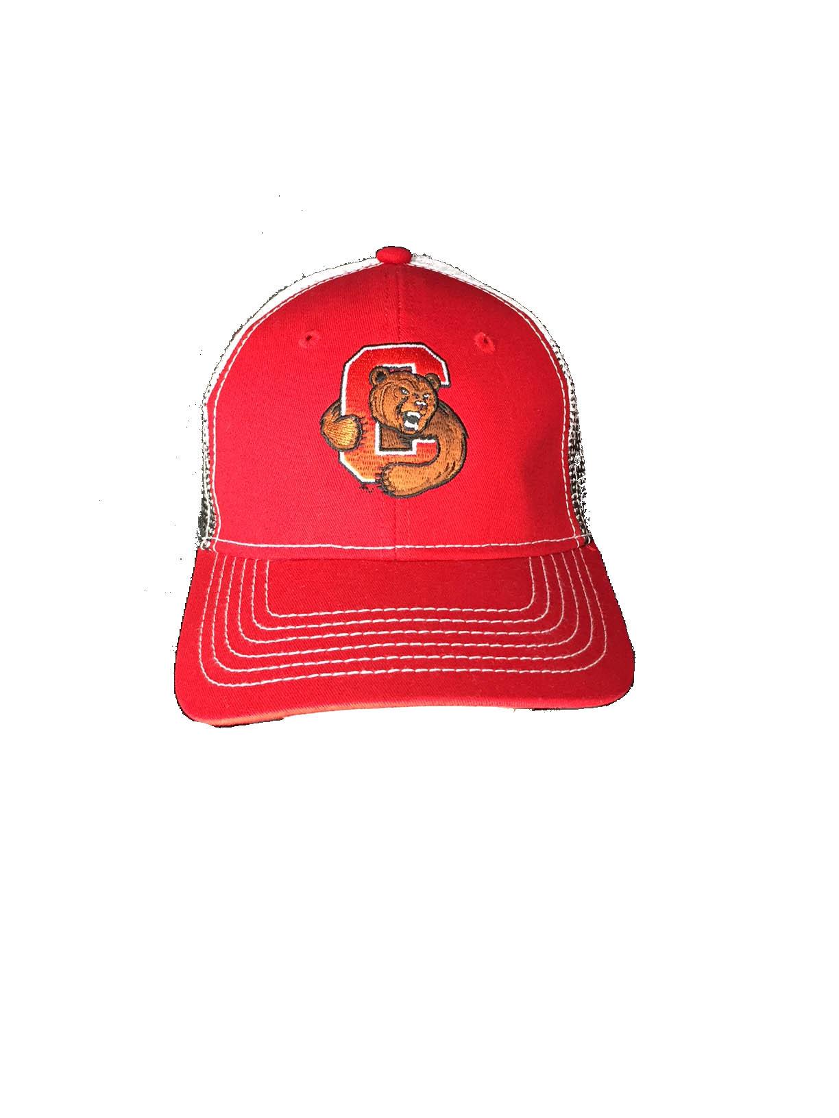 Cornell Red Gradient Trucker Hat