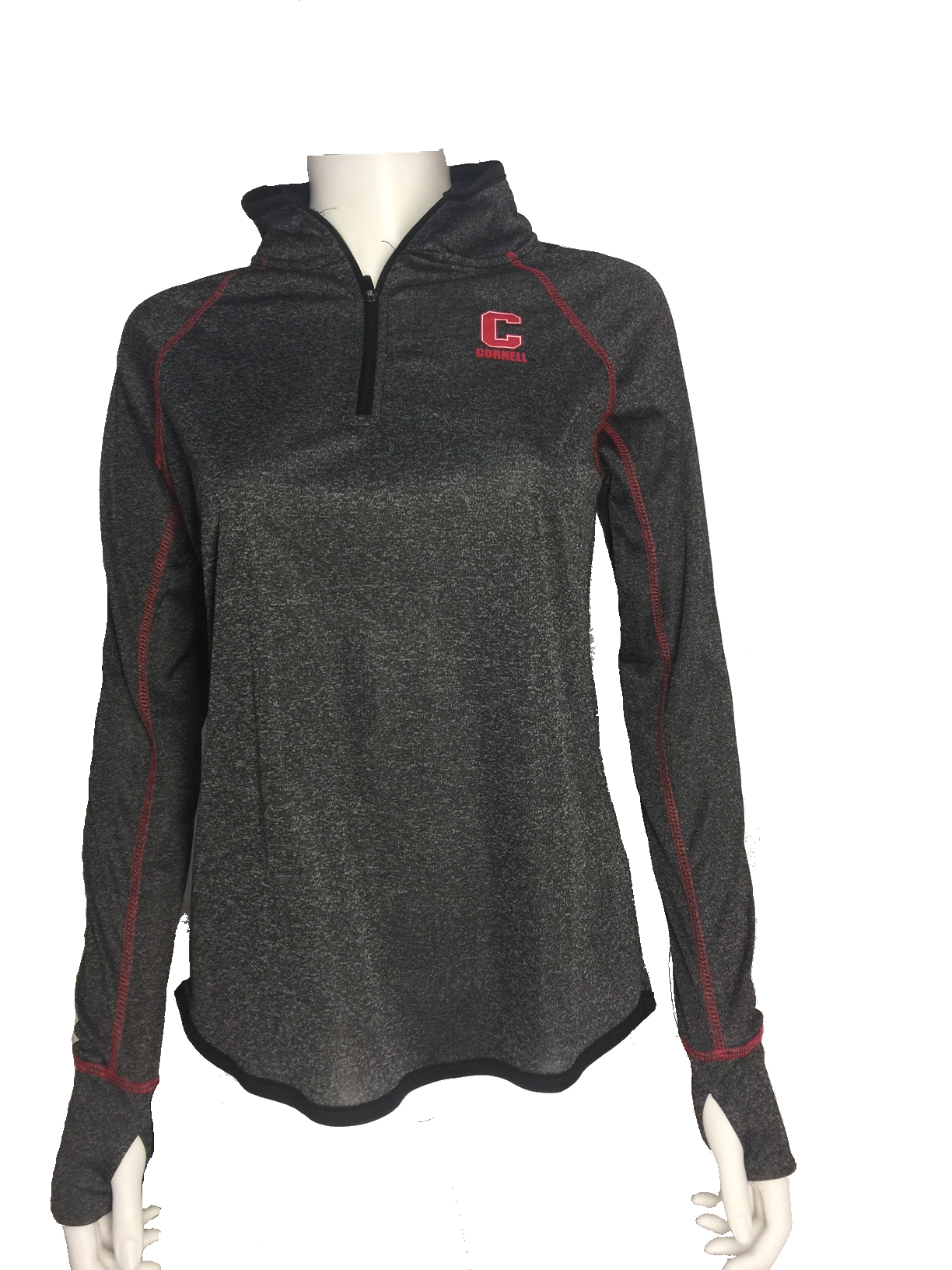 Cornell Women's Kit 1/4 Zip Windshirt