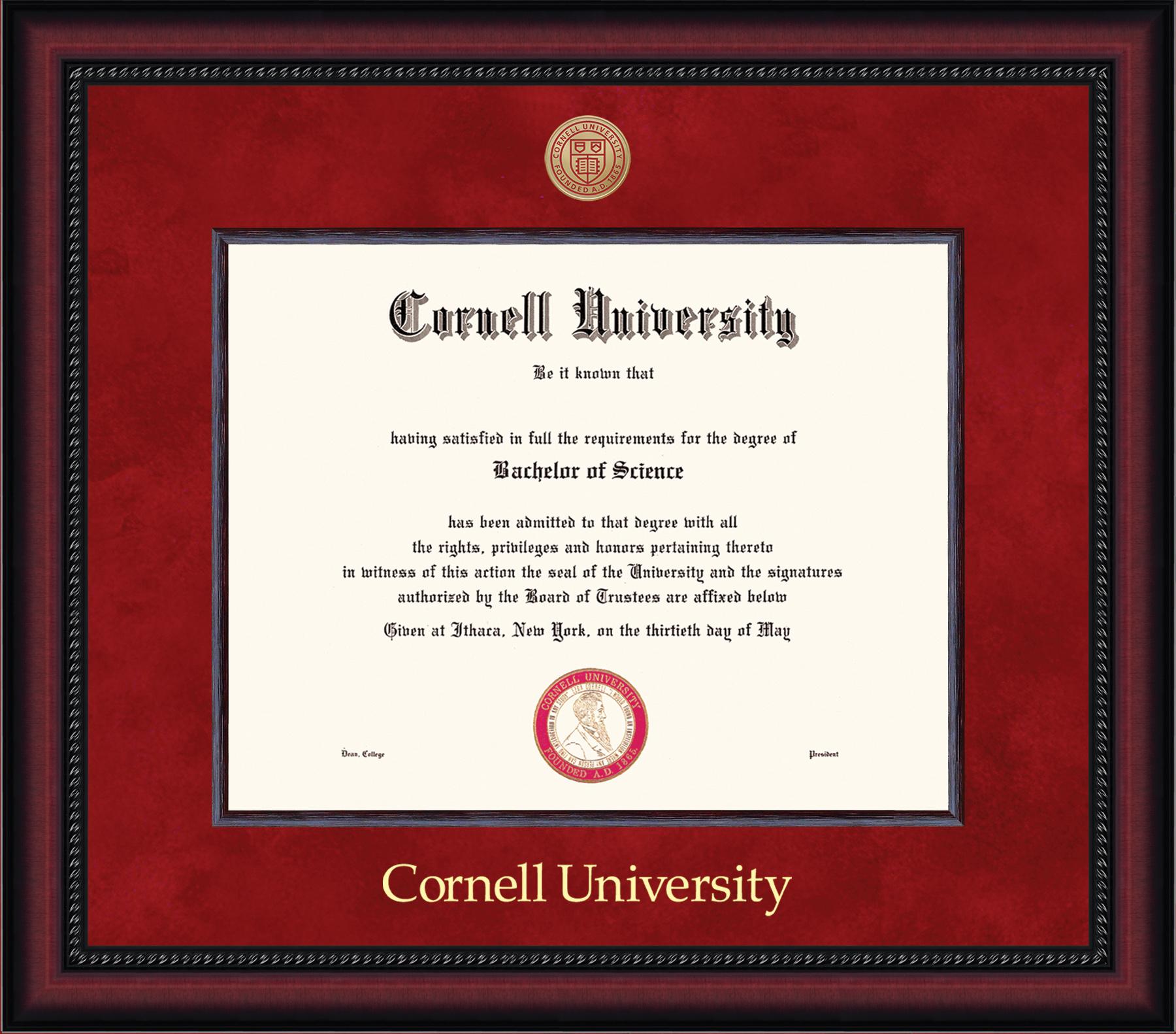 Cornell Pre 1994 Diploma Frame-Legacy
