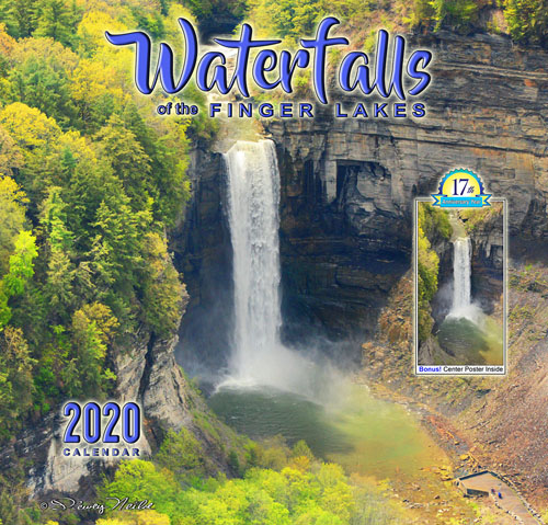 2020 Calendar-Waterfalls of the Finger Lakes