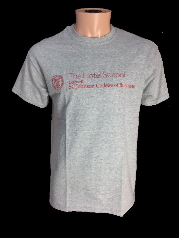 Cornell Hotel School >> Cornell Hotel School T Shirt Gray Bear Necessities Online