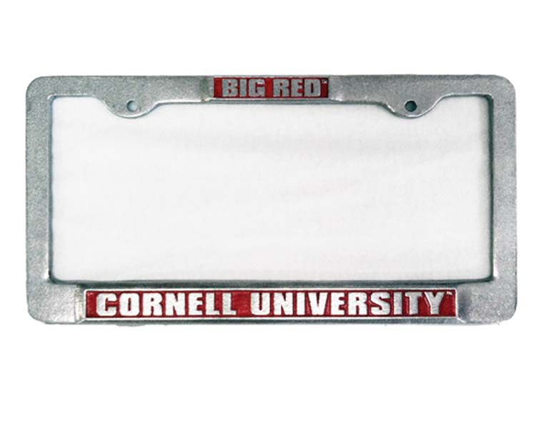 Pewter License Plate Frame | Bear Necessities Online Store